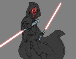 DARTH MAUL - The Phantom Menace - work in progress by Remortal