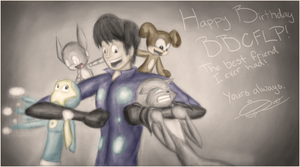 Happy Birthday BBCFLP III (For SongaiX) by KingDvo