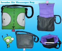 Invader Gir Messenger Bag by invader-gir