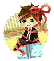 Happy Birthday Makoto! by misunderstoodpotato