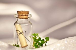 Letter in a bottle by eline-w