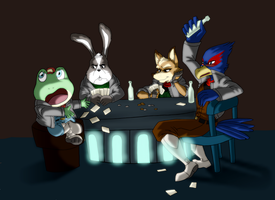 Poker Night by I-Redeemer-I