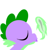 Spike from My little pony emblem by Undeaddemon4