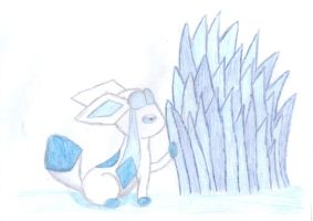 Glaceon by xela1234