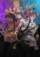 Josie and the Pussycats by tskrening