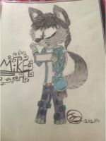 Five Nights at Freddy's-Mike by ArtWolf99