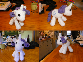 Filly Rarity by Crowchet