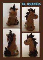 Dr. Whooves Miniature by IcyPanther1