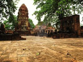 Ruins of Siam by JustSky