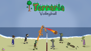 Terraria Volleyball by kleggt