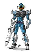 0401: Fourze Cosmic State by Agito666