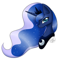 Princess Luna by DragonGirl983