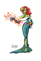 Poison Ivy 50s fasion by Mordor-in-love