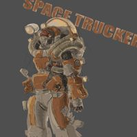 Space Trucker by McKiller