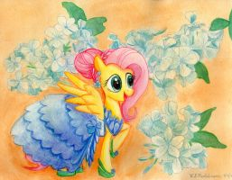 MLP Flowers of Harmony - Kindness by kelseyleah