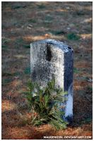 POW Grave by MauserGirl