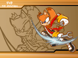 Ivo Eggman Sonic battle wallpaper by Midowko