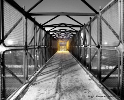 Light at the end of the tunnel by Bottleopener