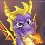 Fan Favorites Series #11- Spyro by sophiecabra