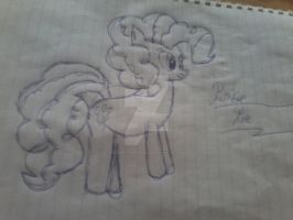 Pinkie pie drawing by AlerarityFrancoise