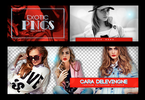 Photopack 661 // Cara Delevingne by ExoticPngs