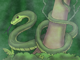 Masamba the Great Swamp Serpent by BrandonSPilcher
