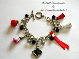 Twilight bracelet: Commission by Here-is-MaryLou