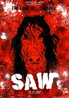 Saw poster by Barguest
