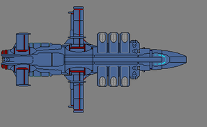 Tau Imperium Escort carrier by wbyrd