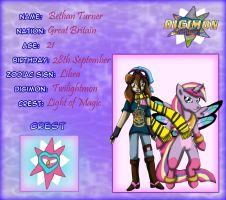 Digimon Protectors - Bethan and Twilightmon by Bethessa