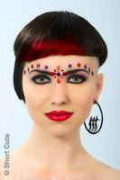 Cosmic Queen (for Short Cuts hairdressing) by Make-upArtist