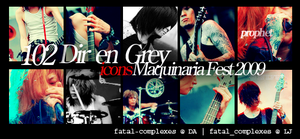 diru maquinaria fest icons by fatal-complexes