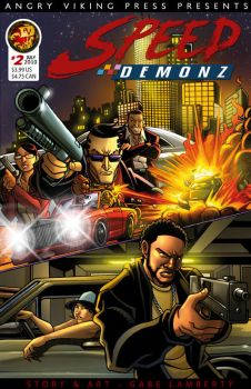 2010 Speed Demonz 2 Cover by GabeLamberty