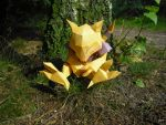 Abra papercraft by TimBauer92