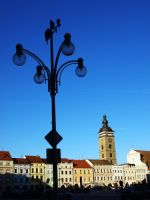 Main Square in Ceske Budejovice12 by abelamario