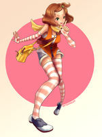 Harvest Moon: A New Beginning - Tina by Rattenfanger