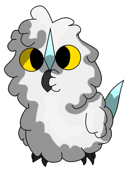 Fakemon Snowling by Cyclone62