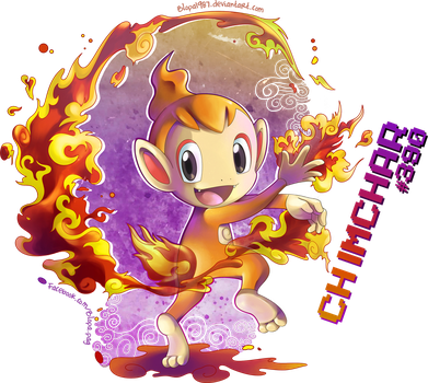 Chimchar by Blopa1987