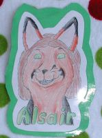 Alsair's Badge by RoseHexwit