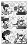 Splatoon Zone tan and me comic by donicx1