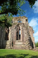 The Ruins of Melrose Abbey by AgiVega