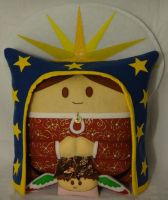 Handmade Our Lady of Guadalupe v1.43 Pillow by RbitencourtUSA