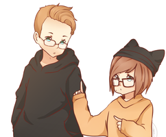 TY AND I by OrenjiiBUTT