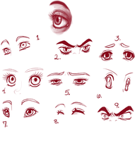 Just a Bunch of Eyes by Hetaclypse