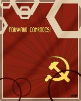 Forward Comrades Deco by The-Necromancer