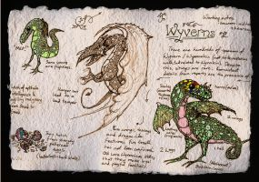 Page on Wyverns by billiambabble