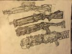 Destiny Exotic Shotguns by HaruAxeman