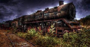 locomotive by bajma