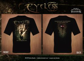 Eyeless Tshirt Design by vileation