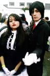 Maid cosplay at Anime Friends 2014 by Maidsaki